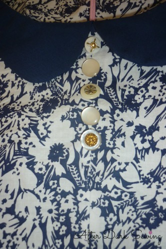Simplicity 1609 - buttons